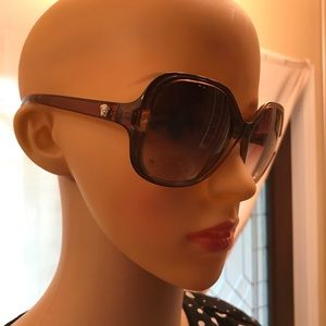 Versace Brown Gradient Sunglasses with case